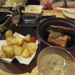 まるりゅう - 一品料理のポテトフライや黒おでん