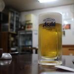 御食事処 スズキ - ビール
