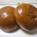春華堂 - 佐藤店限定!黒蜜まんじゅうです。