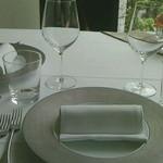 28710657 - テーブルコーデ。おしぼりが付くのは珍しいですね(^^)