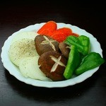 焼肉めお - 野菜焼き