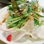 炭鶏家みどり - シャキシャキ大根サラダ♪