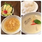 カフェ ド ガバチョ - 850円適度に辛く美味しかった( ´ ▽ ` )ノ