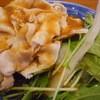 シノア - 料理写真:豚の冷しゃぶ(大根おろし掛け)