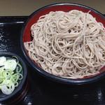 名代 富士そば - 特盛り 2014.7