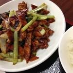 紅四季 - 鶏の味噌炒め