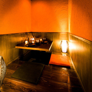 ◆平均滞在時間3時間30分の個室席でゆっくりできます