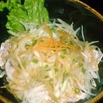 ◆和豚もちぶたと玉ネギの冷しゃぶサラダ
