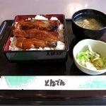 和食レストランとんでん - うな重(ライス大盛り、2,030円)
