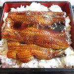 和食レストランとんでん - うなぎのアップ