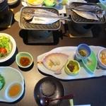 富士河口湖温泉郷 湖楽 おんやど 富士吟景 - 朝食の和定食