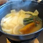 富士河口湖温泉郷 湖楽 おんやど 富士吟景 - 朝食のほうとう