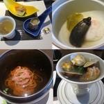 富士河口湖温泉郷 湖楽 おんやど 富士吟景 - 夕食の数々