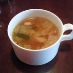 ディンプルス - 料理写真:スープ