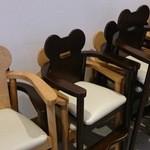 パークカフェ - 可愛い子供椅子!!