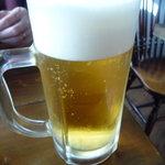 麺道楽 かぶとや - 生ビール