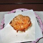 雪国 - 夕食8(柿のタネを衣に使った揚げ物)