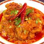 インディアンオーブン - 料理写真:チキンチリスパイシー