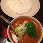 びすとろ もちゴリラ - 1日分の野菜curry