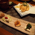 和洋酒彩 河童 - 五種類の日替わり惣菜