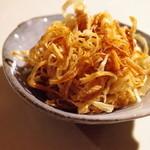 チャテオあくさん - 玉葱の自家製ギー揚げ