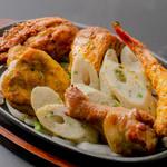 タータンナディ - 料理写真:お得な串焼きの盛り合わせ