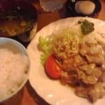 あじさい - 豚生姜焼き定食 800円也(税込)