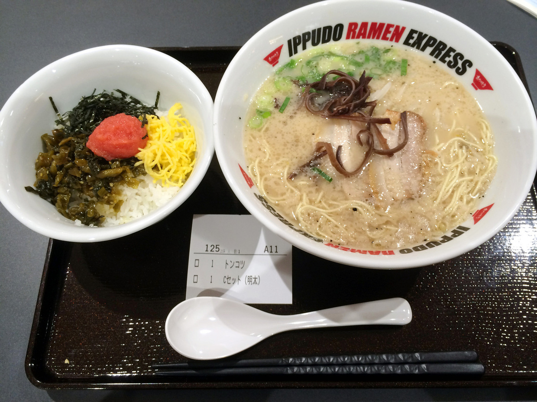 イップウドウ ラーメン エクスプレス イオンモール名古屋茶屋店