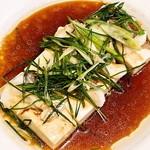 28729239 - 明石鯛と豆腐の蒸し物