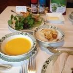ロウリーズ・ザ・プライムリブ 大阪 - グリーンサラダやグラタン・パンプキン冷製スープも!