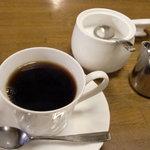 ローリエ - 食後のコーヒー シチューに込みです