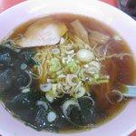 キタボシ - 料理写真:ものすごくあっさりとした昔ながらの「ラーメン」。