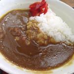 山田うどん - 朝カレーセットカレー