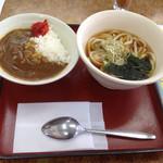山田うどん - 朝カレーセット¥300-