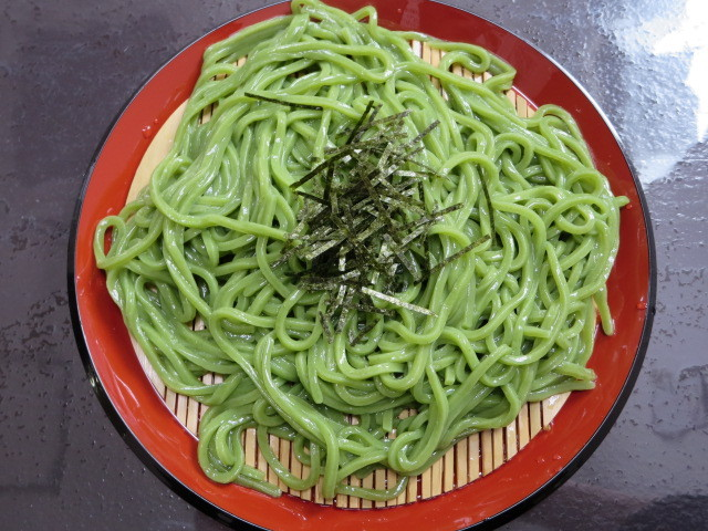 留さんうどん - ざるうどん(細麺) 並盛 500円