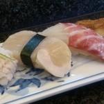 小花寿司 - 追加にぎり4貫おまかせで