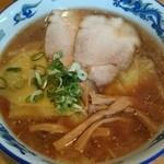 ラーメン秀来 - 【2014/04】ワンタン麺