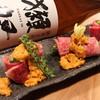 大衆割烹TAKEYA - 料理写真:雲丹の牛肉巻
