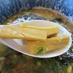 超星 - つけ麺 醤油・メンマ