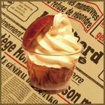 マキバ - 自家製のあたたかいブリオッシュにmakiba(まきば)の牧場生ソフトクリームをサンド!!