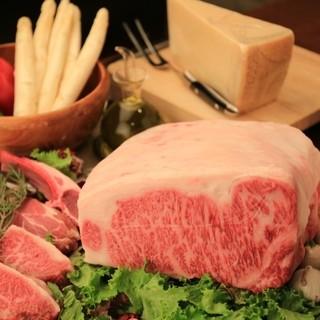 肉も魚もお野菜も食べたい!A5佐賀牛やホワイトアスパラを堪能