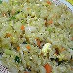 ラーメン亭皇 - Bセットの焼き飯小 もやしが入ってる珍しい焼き飯。