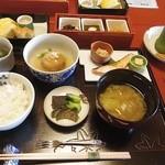 祇園畑中 - 1日目朝食