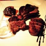 Heart Dinin'Bar &K - 4種ステーキの盛り合わせ