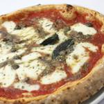 Pizzeria del Re - 【ロマーナ】トマトソース、モッツァレラ、アンチョビ、オレガノ