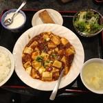28744406 - ランチの麻婆豆腐定食、税込み700円