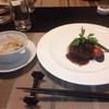 オーベルジュ - 料理写真:ホタテごはんとハンバーグ
