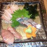 オーベルジュ - 太刀魚、鮪、ハマチ