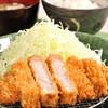 Toyamabutashokudoukatsutama - 料理写真:極上ロースかつ定食