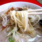 永楽亭 - 茹で加減柔々の麺!